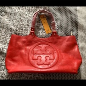 Red Tory Burch Tote